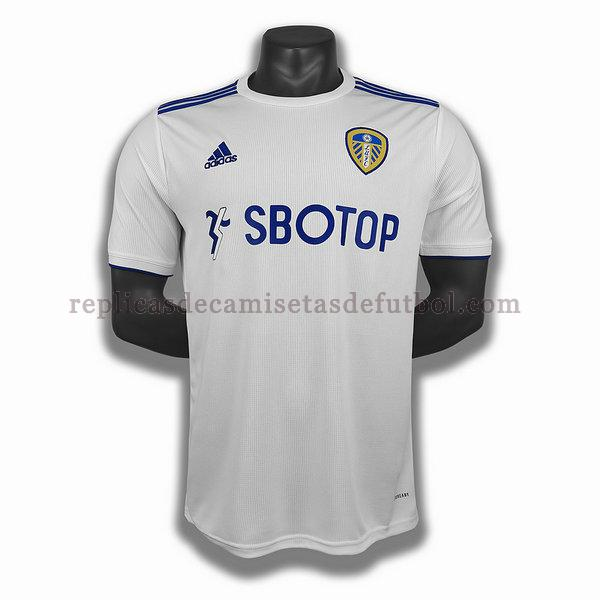 primera player camisetas de futbol leeds united 2020-2021 blanco